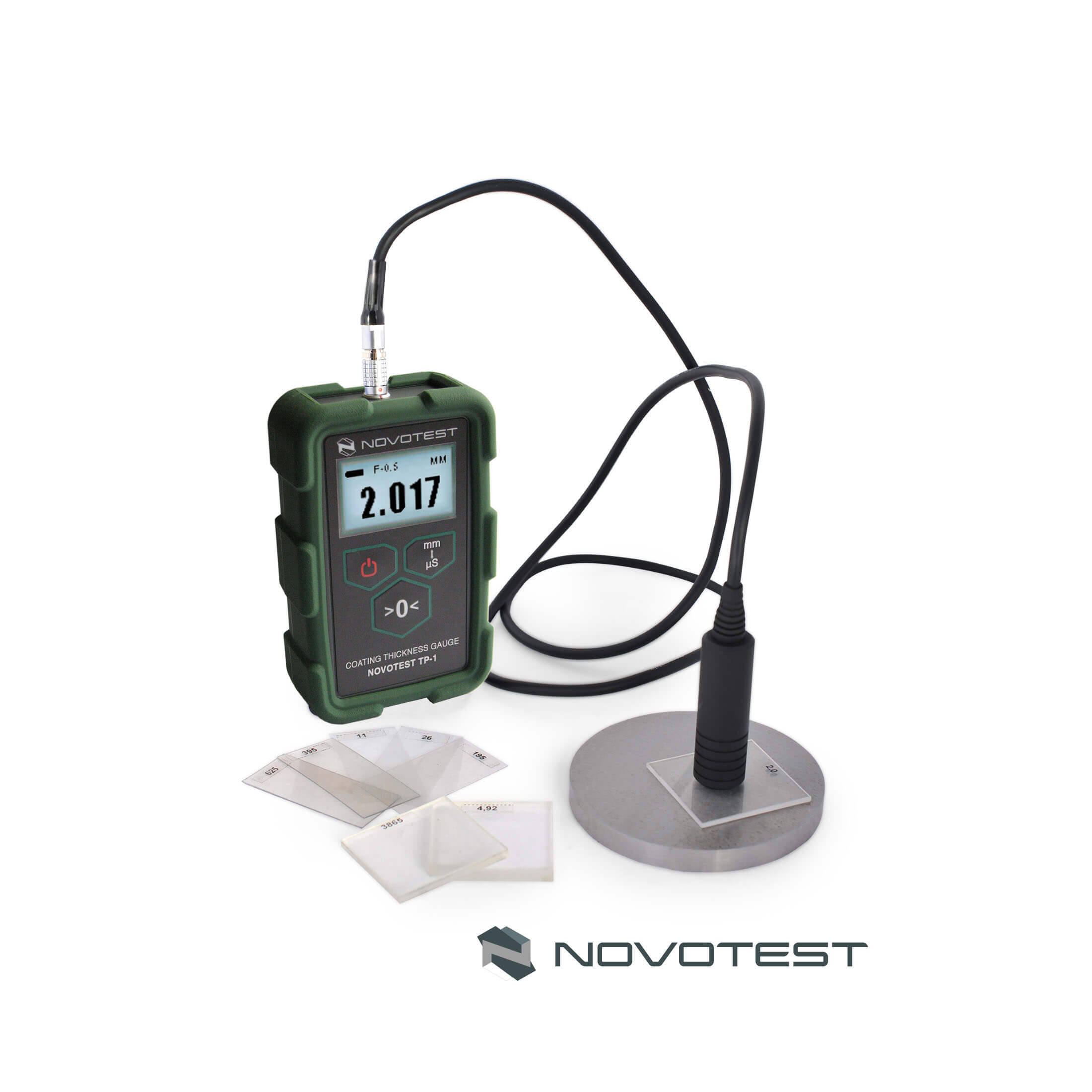 Alat ukur ketebalan lapisan Coating Thickness Gauge NOVOTEST TP-1M