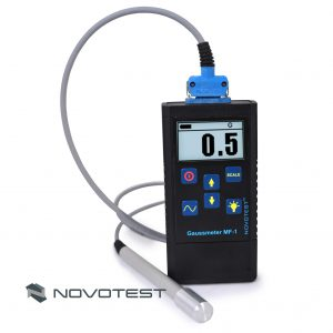 Gauss meter (Magnetometer) NOVOTEST MF-1